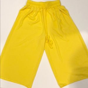 ZARA Yellow Pants